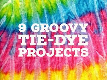 9 Groovy Tie-Dye Projects