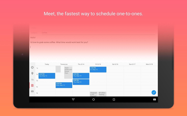 Sunrise Calendar - screenshot