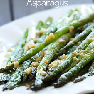 Parmesan Garlic Asparagus.