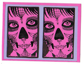 Photo: Mail Art 365 Day 6 card 6a sorry my internet has been working intermittently the last 24 hours so I am behind in answering comments and mail