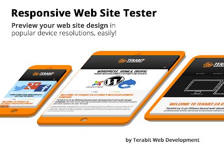 Responsive Website Tester for Google Chrome™!