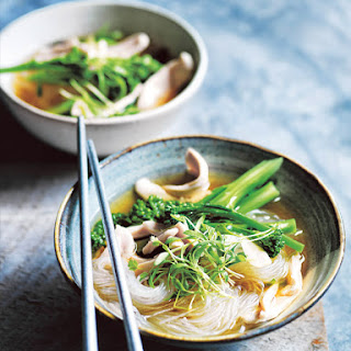 Asian-style Chicken Noodle Soup.