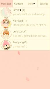 BTS Messenger Pro - náhled