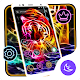 Neon Tiger APUS Launcher Theme for PC-Windows 7,8,10 and Mac