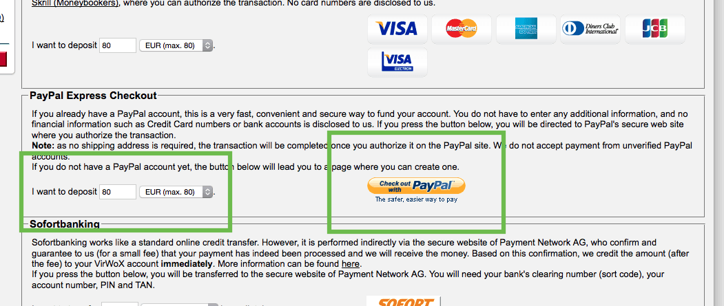 change paypal for sll