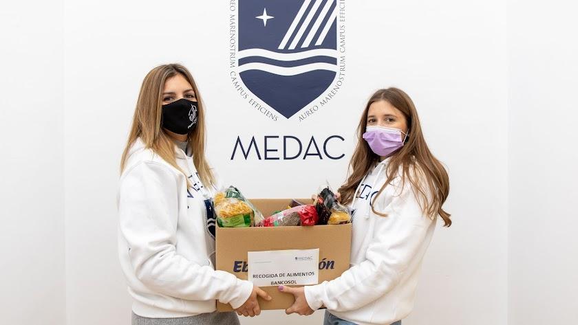 Campaña solidaria navideña de MEDAC.
