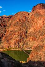 Photo: The Colorado River, South Kaibab Trail down the South Rim of Grand Canyon National Park, Arizona, USA