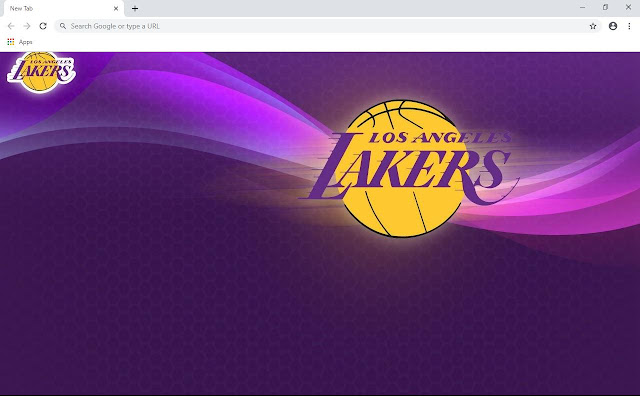 L.A. Lakers Wallpapers and New Tab