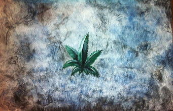 Photo: this and the rest of my cannabis art will be for sale at the 'trating yourself ' expo in may!!