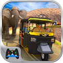 Offroad Tuk Tuk Hill Adventure icon