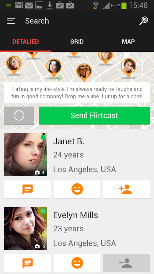 СlickandFlirt - Online Dating - screenshot