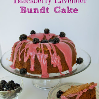 Blackberry Lavender Bundt Cake Recipe