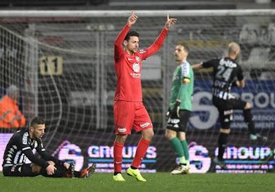 Pro League: Eupen s'impose sur la pelouse de Charleroi