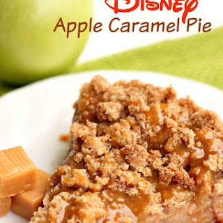 Disney's Apple Caramel Pie.