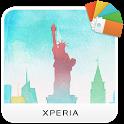 XPERIA™ Cityscape NY Theme icon
