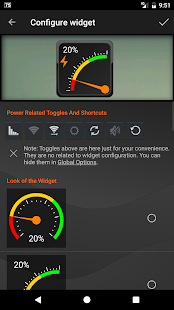 Gauge Battery Widget- screenshot thumbnail