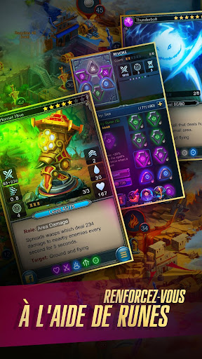 Defenders 2: Tower Defense CCG  captures d'u00e9cran 2