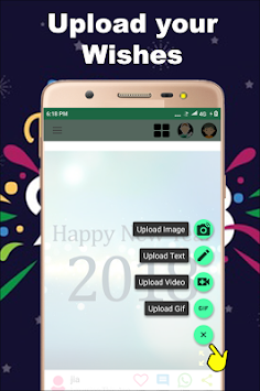 Download new year 2018 wishes hindi gifmessagevideos apk latest new year 2018 wishes hindi gifmessagevideos poster m4hsunfo