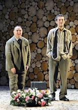 Photo: Wien/ Theater in der Josefstadt: AUSGELÖSCHT von Thomas Bernhard. Premiere: 25.2.2016. Inszenierung: Oliver Reese.  Udo Samel, Christian Nickel. Copyright: Barbara Zeininger