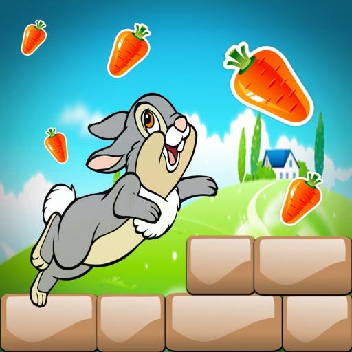 Surprise rabbit running rush