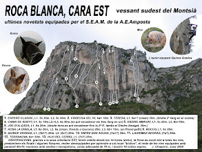Photo: Tarragona - El Montsià -  Roca Blanca -05- Cara Est