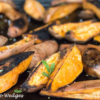 How To Roast Perfect Sweet Potato Wedges.