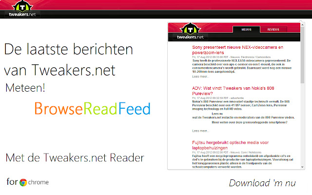 Tweakers.net Reader