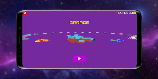 Télécharger Gratuit Infinity Racer: Spaceship Game 3D apk mod screenshots 4