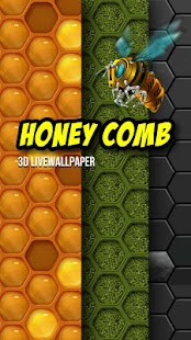 Next Honeycomb Live Wallpaper Screenshot 1