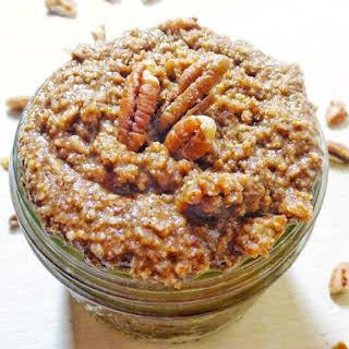 Refined Sugar Free Cinnamon Coconut Pecan Butter.