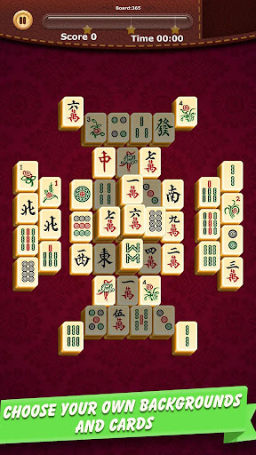 Mahjong Solitaire - Free Board Match Game cheat screenshots 1