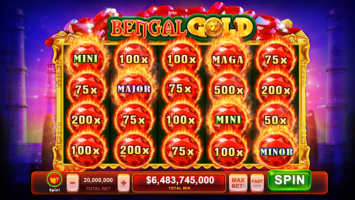 Individual Casino Chips Near Mint $5 Las Vegas Aladdin Vintage Slot Machine