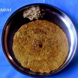 Adai Or Mixed Lentils Dosa
