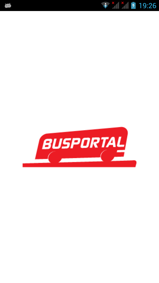 Busportal- screenshot