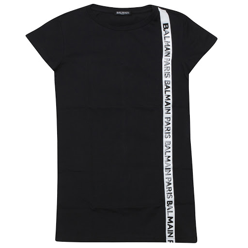 Primary image of Balmain Logo Cotton Dress