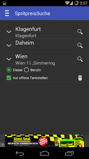 Gas Stations and prices Austria  screenshots 6