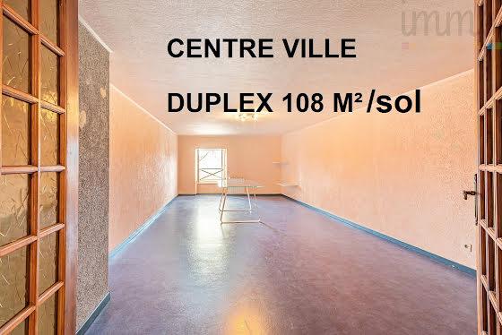Vente duplex 3 pièces 108 m2