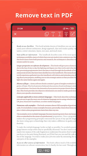 PDF Reader & Editor for Android screenshot 8