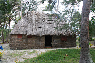 Photo: Traditional home, Naviti Island
