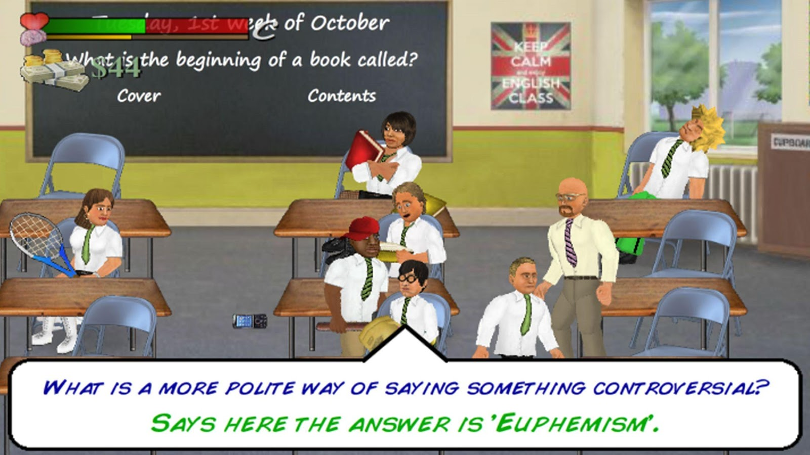 School Days- screenshot