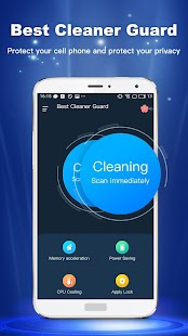Best Cleaner Guard - Phone Cleaner & Privacy Lock - náhled
