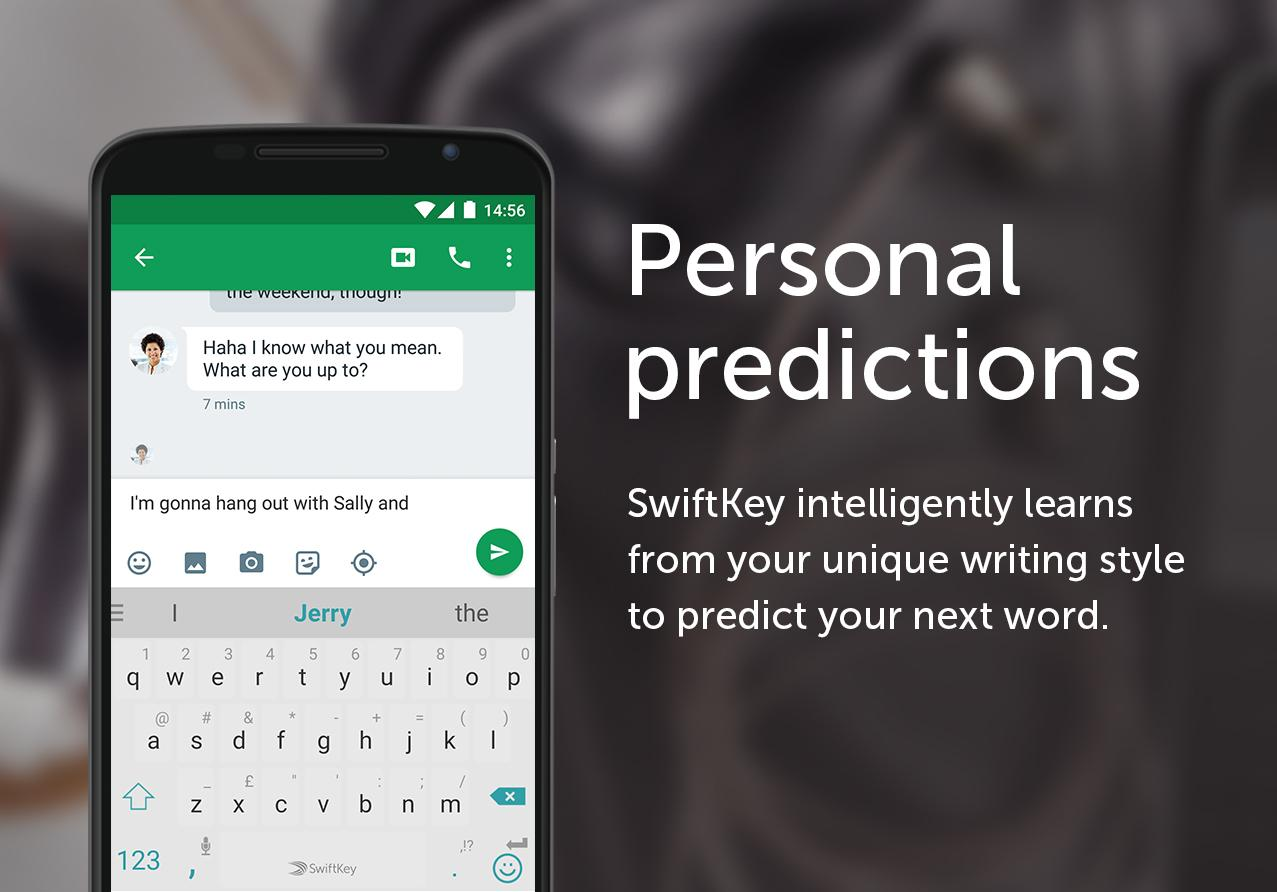 Screenshots of SwiftKey Keyboard for iPhone