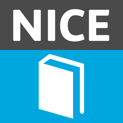 NICE Guidance 醫療 App LOGO-硬是要APP