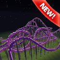 Roller coaster map Minecraft icon
