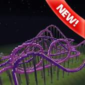 Roller coaster map Minecraft