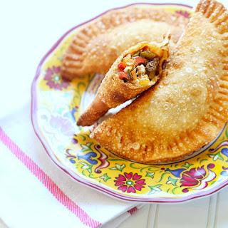 Fajita Style Veggie Empanadas.