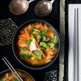 Vegetable and Tofu Miso.