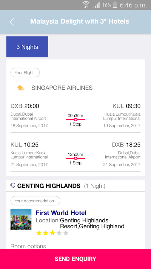 HolidayMe - Hotels & Holidays- screenshot