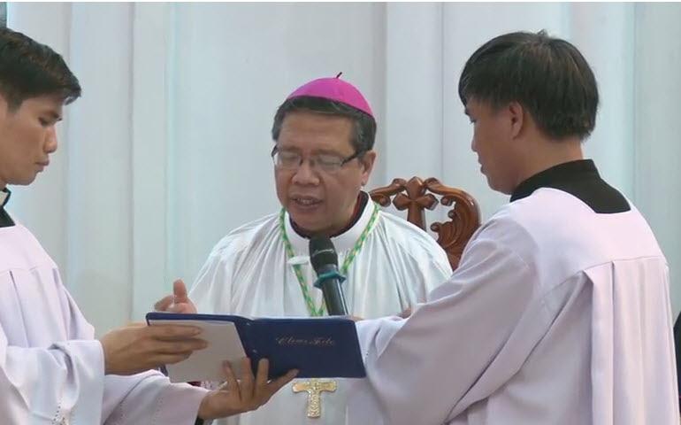 Nghi thức Tuyên thệ của Đức Tân Giám mục Luy Nguyễn Anh Tuấn - Ảnh minh hoạ 12