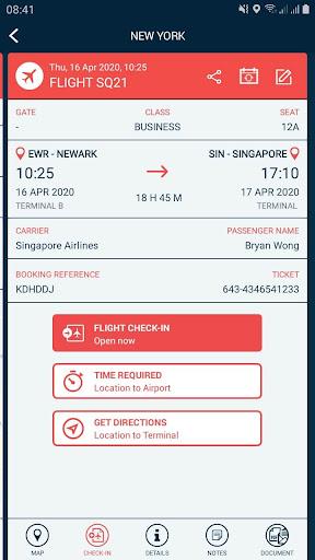 Traveler Buddy - Trip Planner and Flight Checker 2.4 screenshots 4
